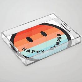 HAPPY CAMPER Acrylic Tray