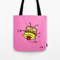 Pineapple Upside Down Cake Tote Bag