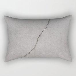 cracked concrete texture - cement stone Rectangular Pillow