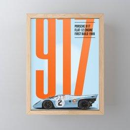 917 Tribute Framed Mini Art Print