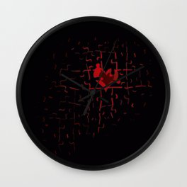 The Piece of the Life Wall Clock