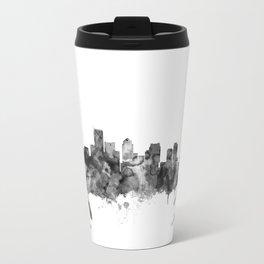 BostonSkyline Massachusetts Travel Mug