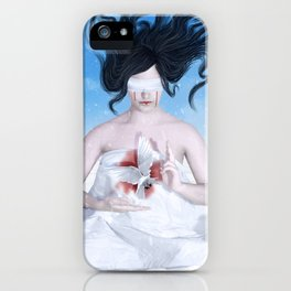 Blood and Snow iPhone Case