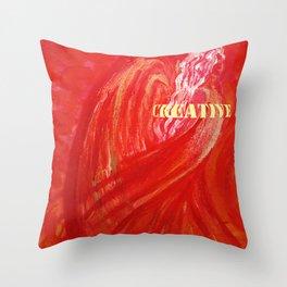 Feel CREATIVE Angel Throw Pillow