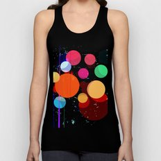 Abstract Universe Unisex Tank Top