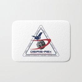 OSIRIS-REX Science Partners Logo Bath Mat