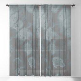 Muted Emerald Sheer Curtain