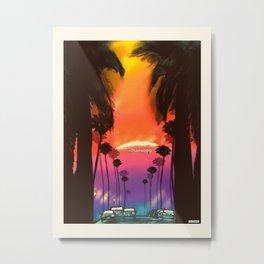 Los Angeles/Hollywood Metal Print