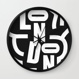 London Routes Wall Clock
