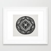 deco Framed Art Prints featuring Deco by ThisIsG1
