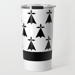 Brittany flag emblem Travel Mug