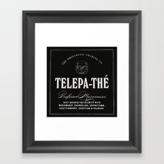 TELEPA-THÉ Framed Art Print
