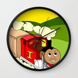 Bonifacio The Train Wall Clock