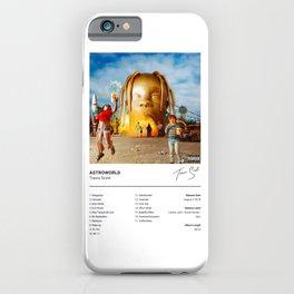 Travis - ASTROWORLD - Scott - Album Art Hip Hop iPhone Case