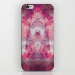 Pink watercolour, marble, yoga, hippie, bohemian, tie dye iPhone Skin