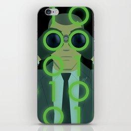 Spy On Me, I'd Rather Be Safe iPhone Skin