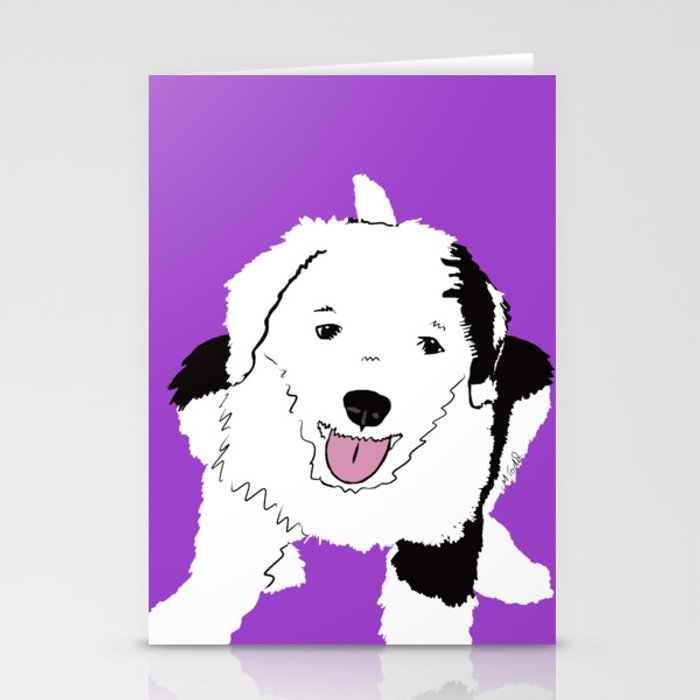 Gypsy The Sheepadoodle Stationery Cards