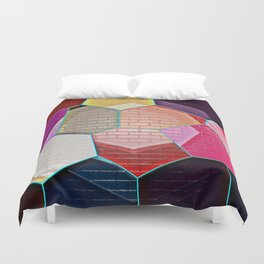 Abstract Alleyway Duvet Cover