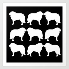 Great Pyrenees: PLURAL Art Print