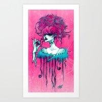 Hooked Art Print