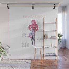 Fashion Illustration Wall Mural