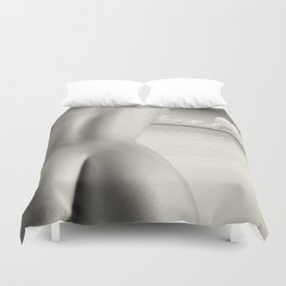 Nudist Beach Duvet Cover