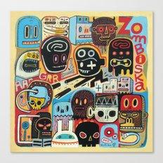 ZOMBISKA Canvas Print