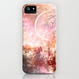 Negative Fantasy iPhone Case