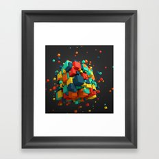 Magnetic Cube Framed Art Print