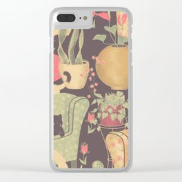 Cats are so sweet Clear iPhone Case