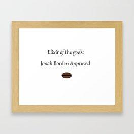 Elixir of the gods Framed Art Print