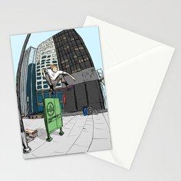 Ollie Over Manhattan Park Stationery Cards