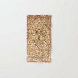Silk Tabriz Azerbaijan Northwest Persian Rug Print Hand & Bath Towel