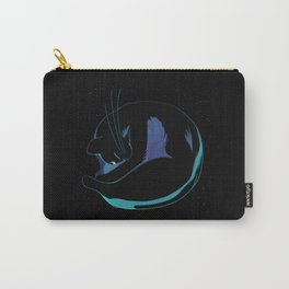 Sleeping MoonCat (fluorescent variant) Carry-All Pouch