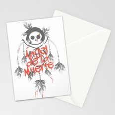 Angel de la Muerte - RED Stationery Cards