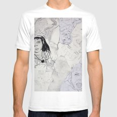 Pia Mens Fitted Tee MEDIUM White