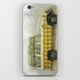 Plaid Land Cruiser iPhone Skin