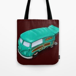 bus Tote Bag