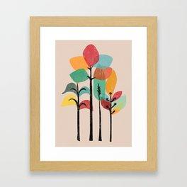 Tropical Groove Framed Art Print