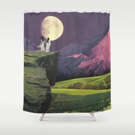 Sacred Moon Shower Curtain
