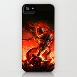 driven by the strength of the enemy iPhone Case
