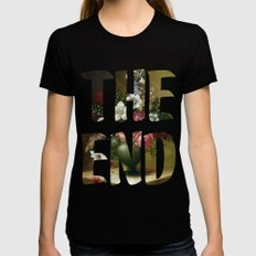 The END Womens Fitted Tee MEDIUM Black