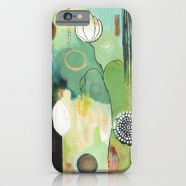 """""""Fly Home"""" Original Painting by Flora Bowley iPhone Case"""