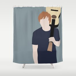 Ed // Billboard Shower Curtain