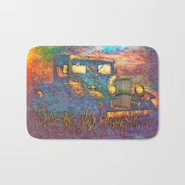 Moonshiners Pickup Truck Bath Mat