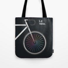 Le Velo Noir Tote Bag