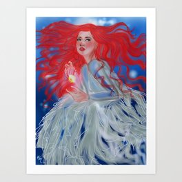 Lettie Art Print