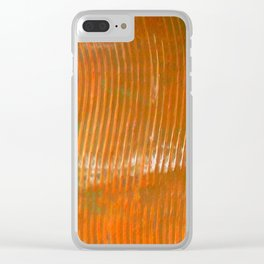 Yellow Lines S37 Clear iPhone Case