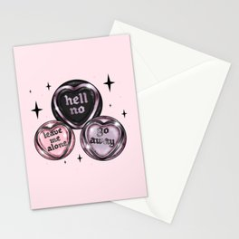 GothHearts Stationery Cards