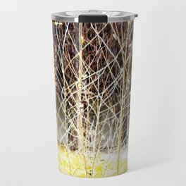 Nature finds the way inside... and outside... Everywhere! Travel Mug